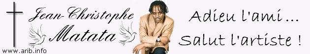 Le chanteur burundais Jean-Christophe Matata est décédé en Afrique du Sud