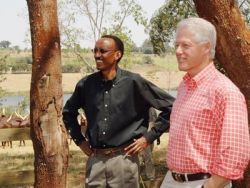 Bill Clinton et « Our Kind of Guy », Paul Kagamé.