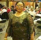 Marie-Rose Londaya Mayala, présidente de Solidarité, s'est donnée à fond pour que le gala soit parfait.