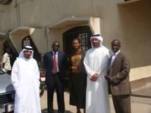 Délégation de l'Arab Bank d'Abu Dhabi en visite à la Mutec