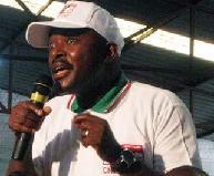 Pierre Nkurunziza en campagne électorale
