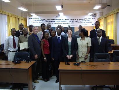 Pr Ntibashirakandi en mission au Rwanda pour assurer une formation régionale dans la cadre de la MIDA