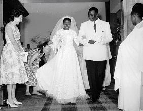 Marriage de Louis Rwagasore et Rose Ntamikevyo